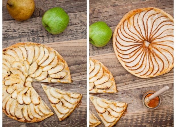 Rustikální koláč s jablky Foto: Kitchenette.cz