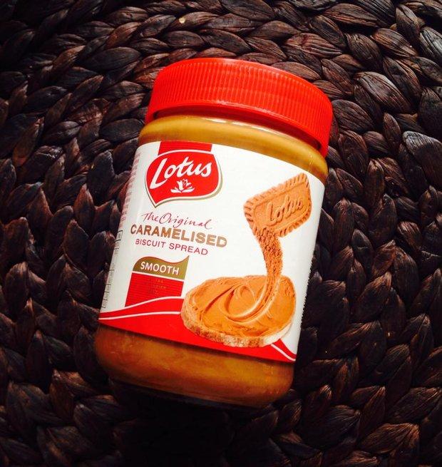 Pomazánka z Lotusek - karamelových sušenek Foto: Klára Michalová