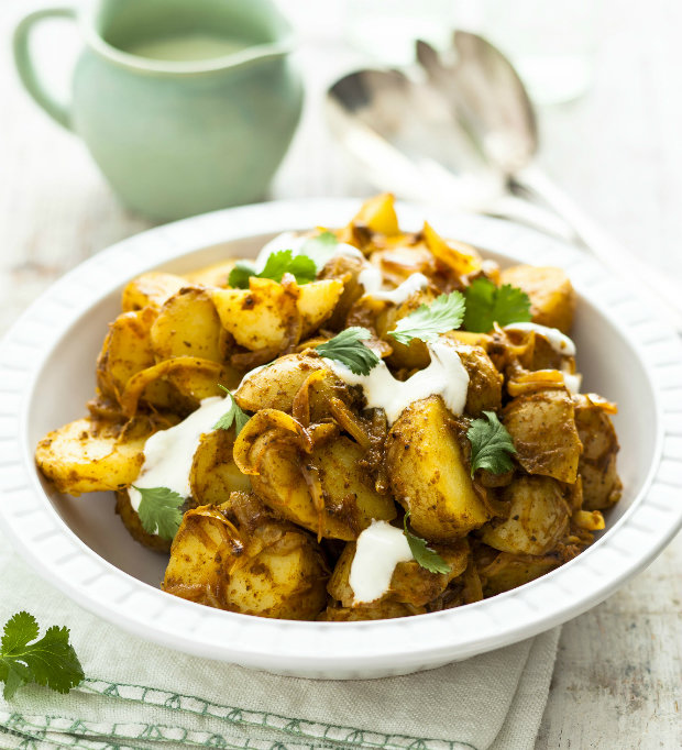 Indický bramborový salát Foto: isifa.com