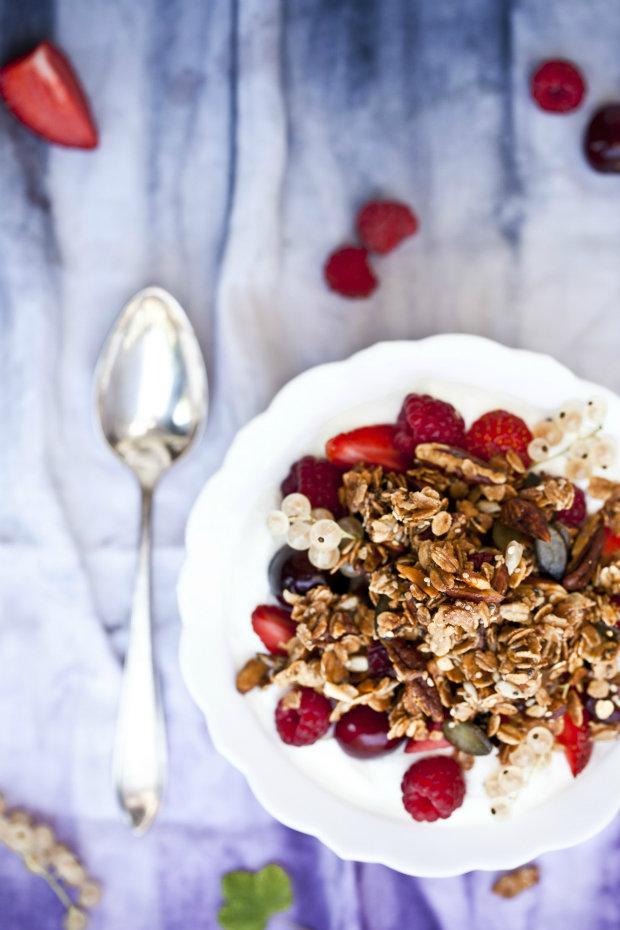Domácí křupavé müsli s quinoou Foto: