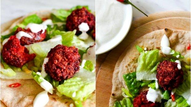 Falafel z červené řepy  Foto: