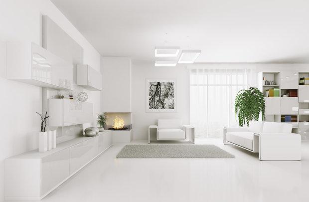 Velmi moderní interiér, velmi čistý, silně strukturovaný. Vyhovuje hlavně lidem, kteří mají co dočinění s financemi Foto: