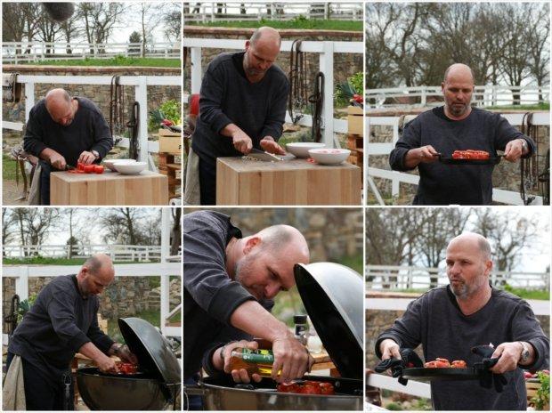 Plněná grilovaná rajčata 2 Foto: