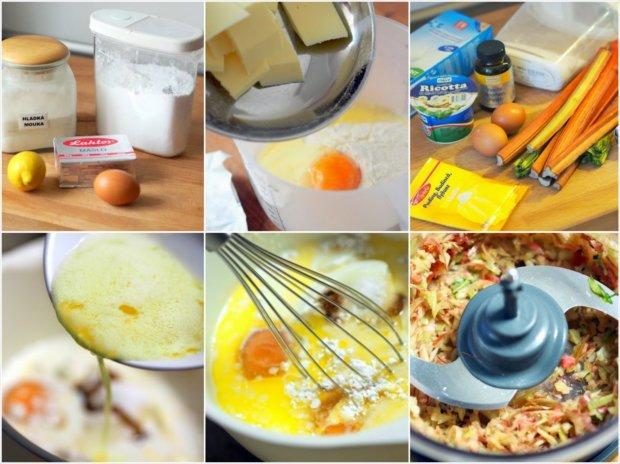 Rebarborový koláč s ricottou 2 Foto: