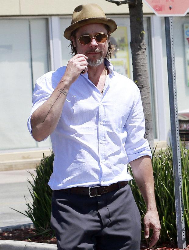 Brad Pitt má nové tetování 2 Foto: