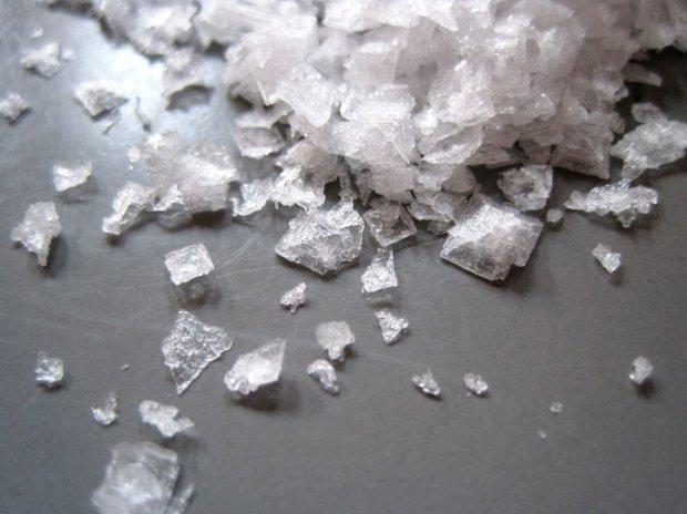 Vločková sůl Maldon 3 Foto: