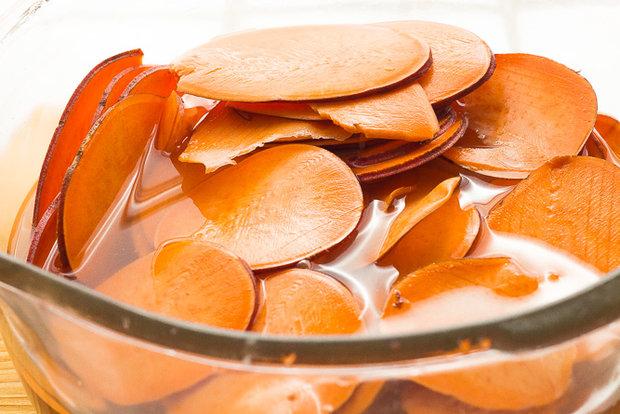 Křupavé batátové chipsy 2 Foto: