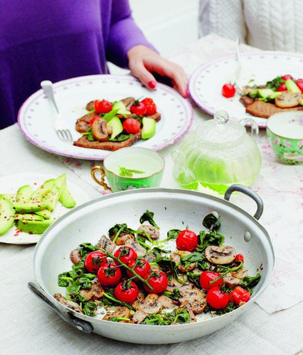Dokonalá smažená zelenina ze zahrádky  Foto: