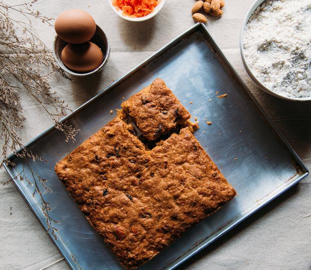 Mrkev koláč zvláční a dodá mu pěknou barvu Foto: