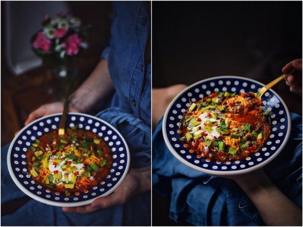 Pikantní taco polévka  Foto: