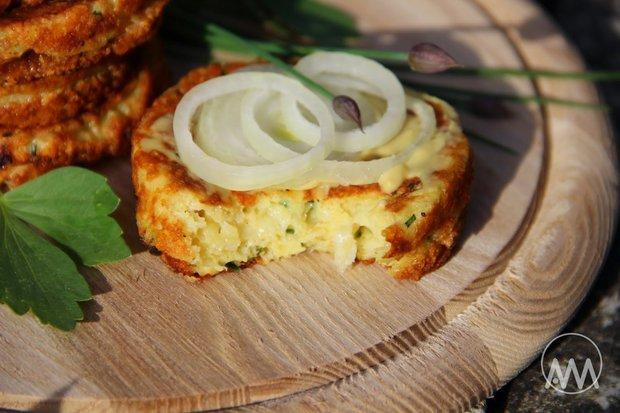 Sýrové placičky s hořčicí 2 Foto: