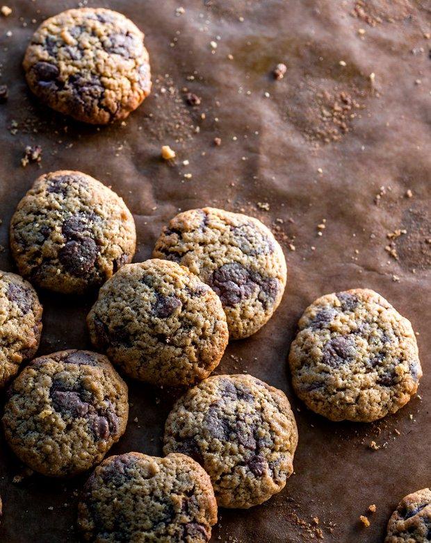 Sušenky s čokoládovými peckami  Foto:
