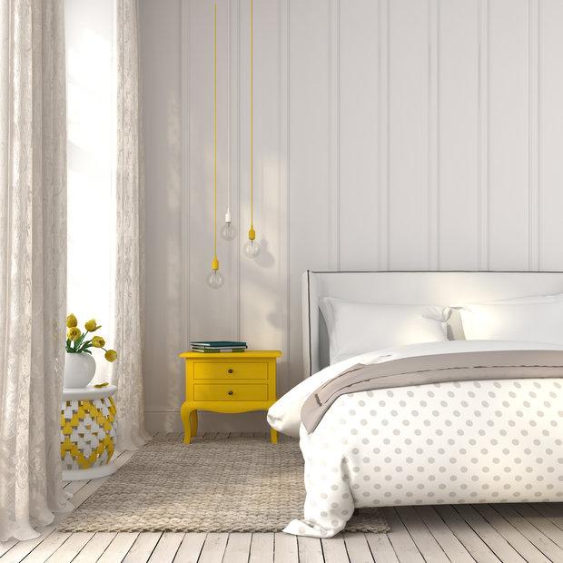 I jemné puntíky na textiliích interiér zpestří... Foto: