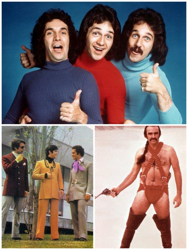 Pánská móda 70. let, jedním slovem - hrůza! Foto: