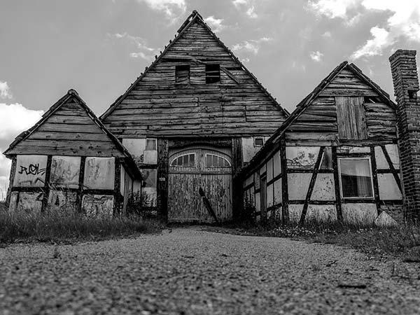 Test - opuštěný dům Foto:
