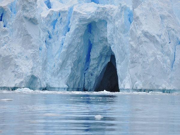 Test - ledová jeskyně Foto: