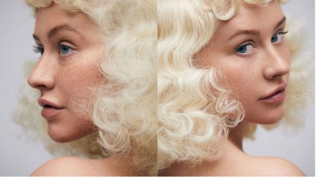 Christina Aguilera bez make-upu 2 Foto: