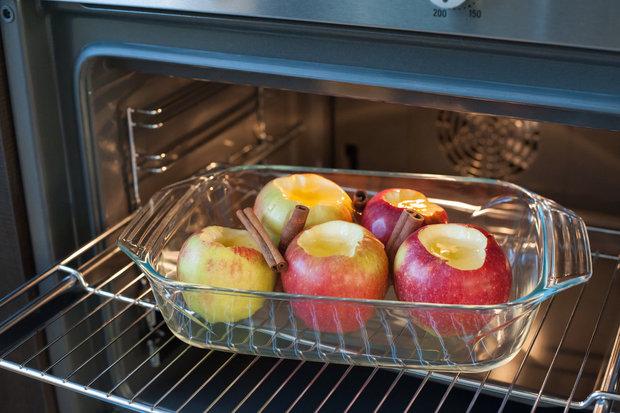 Pečená jablka krásně voní. Foto: