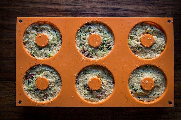 Bezlepkový cuketový muffin / donut / chléb Foto: