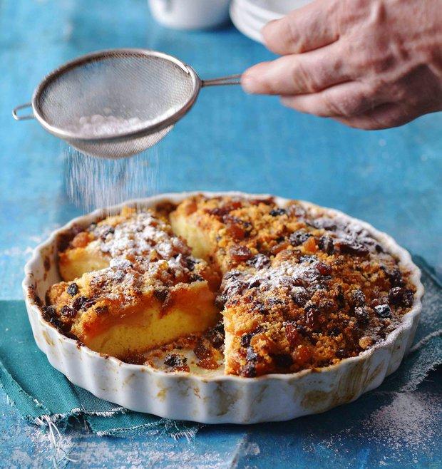 Křehký jablkový koláč  Foto: