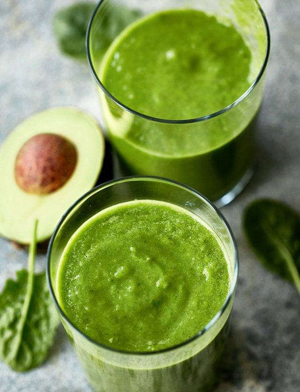 Zelené avokádové smoothie Foto: