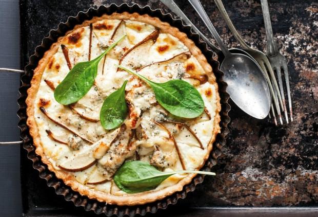 Sýrový quiche s hruškami Foto: Gurmet