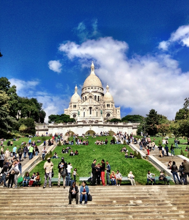 Piknik v parku u Sacré-Coeur Foto: FOODLOVER.CZ