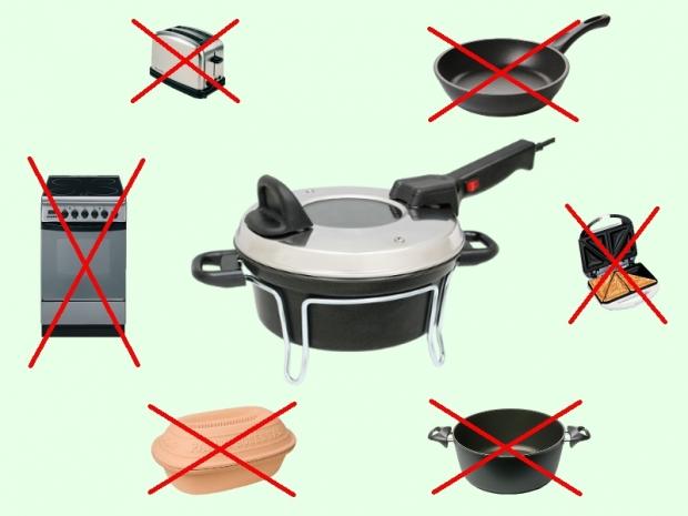 Remoska® nahradí mnoho kuchyňských spotřebičů