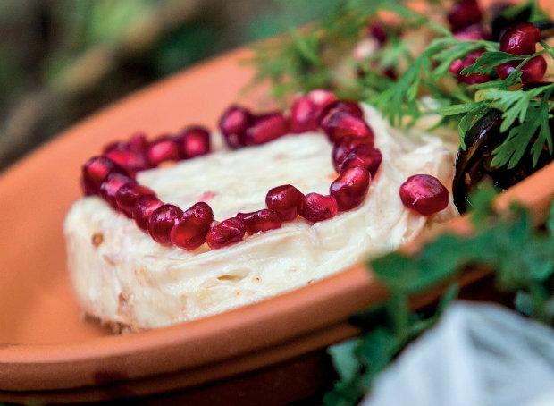 Nakládaný hermelín s grilovaným lilkem  Foto: Velká sýrová nakládačka