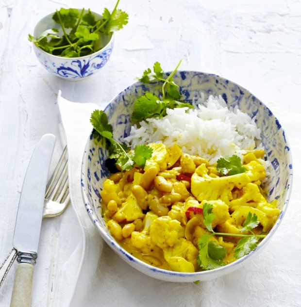 Květákovo-fazolové curry Foto: