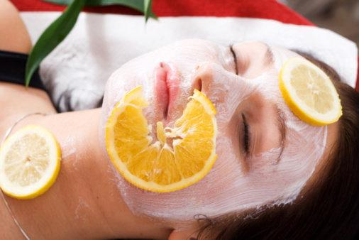 Citronová pleťová maska Foto:
