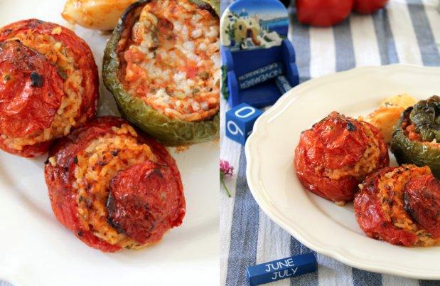 GEMISTA! Plněná rajčata a papriky Foto:
