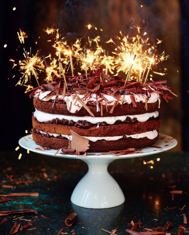 Slavnostní čokoládový dort podle Jamieho Olivera  Foto: