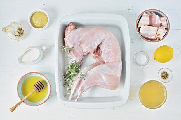 Pečený králík s hořčičnou omáčkou 2 Foto: