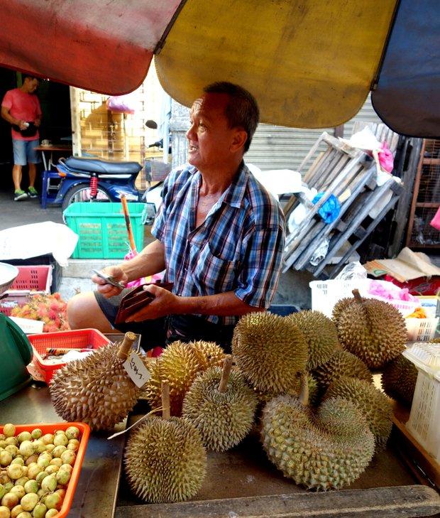 Za jídlem do Malajsie - durian Foto: