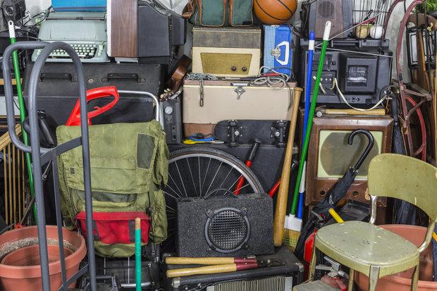 hoarding - garáž Foto: