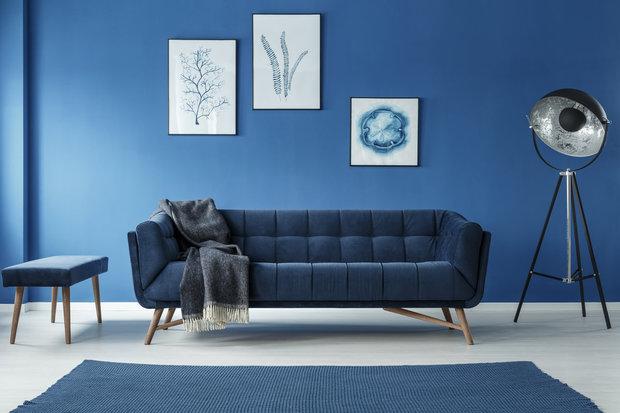 Tmavě modrá působí luxusně Foto: