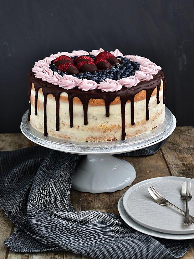 Slavnostní narozeninový dort 2 Foto: