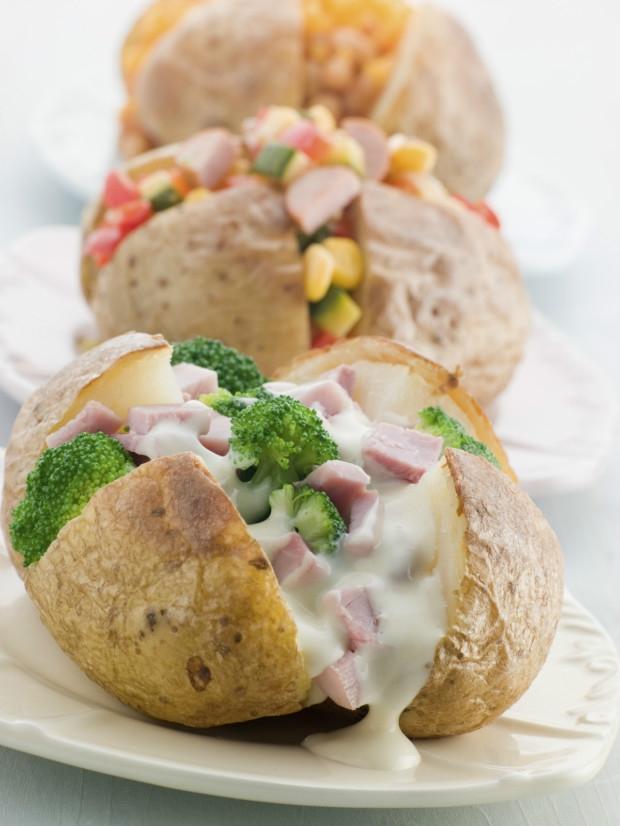 Pečené brambory  Foto: Thinkstock