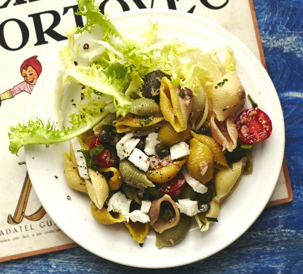 Italský těstovinový salát Foto: Kuchařka pro mého muže