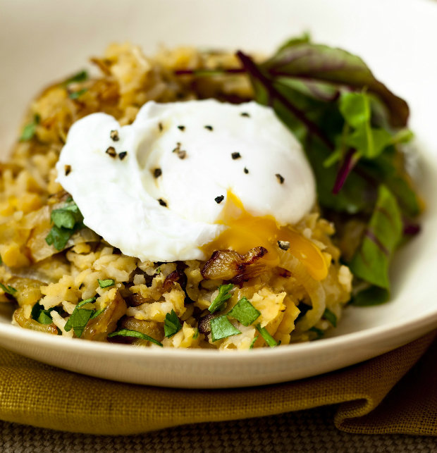 Středovýchodní rýže se ztraceným vejcem Foto: