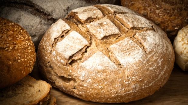 Kvasový žitný chléb