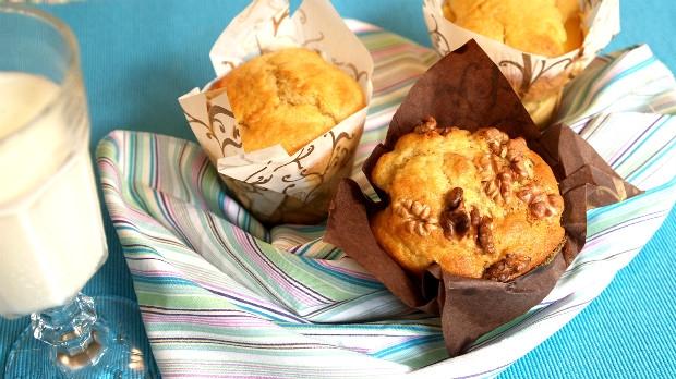 Muffiny sječnou moukou vřeckém stylu