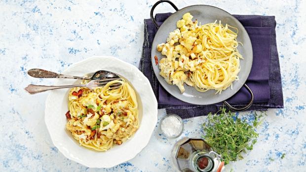Špagety skvětákem asýrem