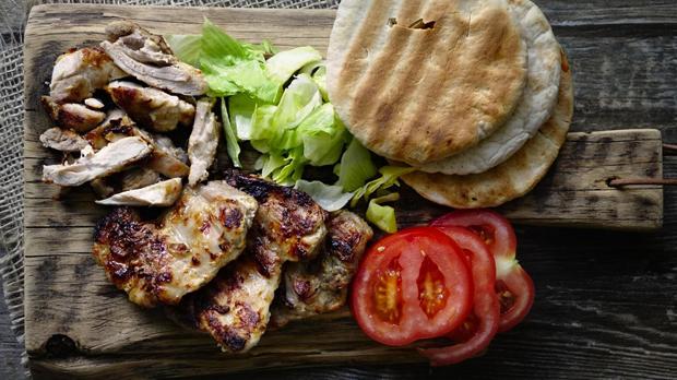 Kuřecí shawarma