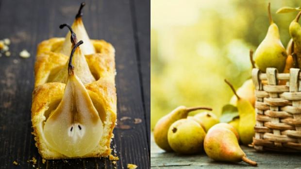 Kořeněný chlebíček se zapečenou hruškou