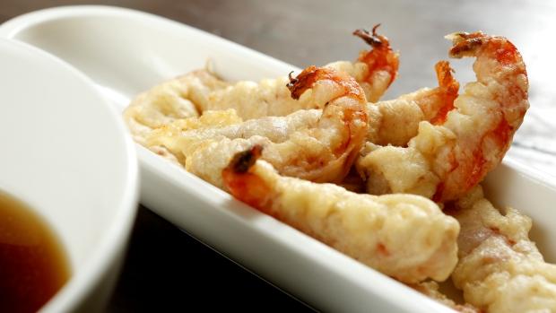 Krevetová tempura