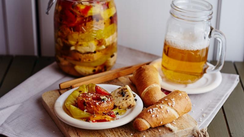 Olomoucké tvarůžky azrající sýry naložené v pivě