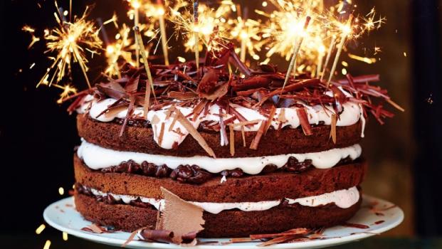 Slavnostní čokoládový dort podle Jamieho Olivera