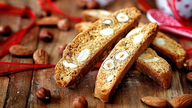 Biscotti – sušenky sořechy